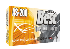 Радиатор отопления алюминиевый Best AS200/10